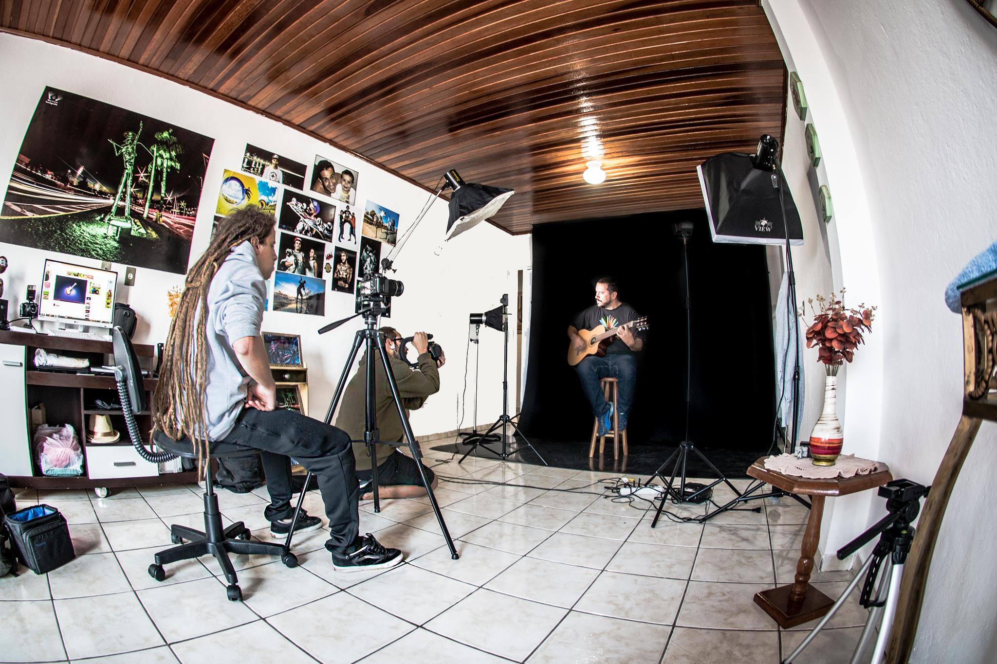 Gravação clipe Bruno Marcondes