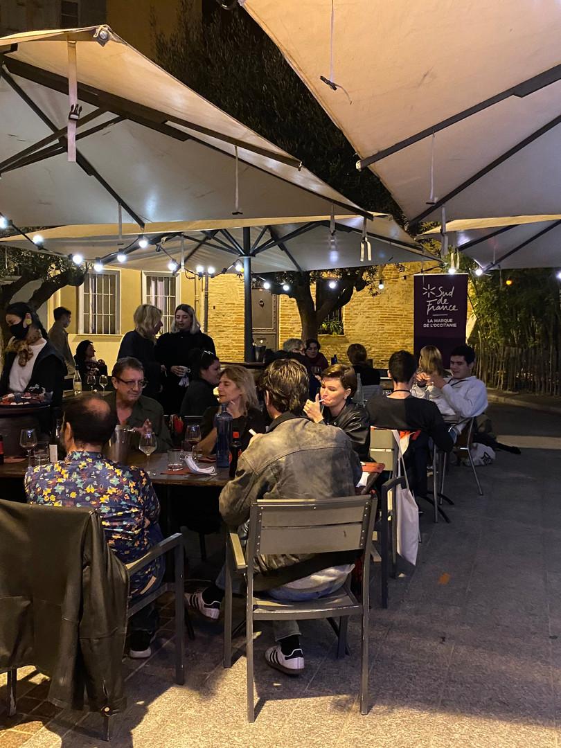 Une soirée au Figuier avec l'équipe et les invités
