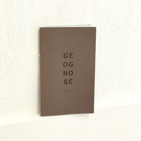 Toma Dutter - Geognose (19€)