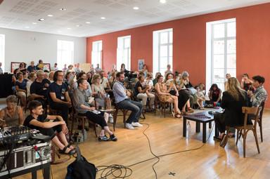 Discussion Annette Messager et Chiara Parisi