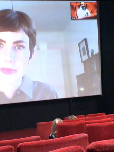 Live au cinéma Castillet avec Tanja Cunz pour le livre Objects of desire