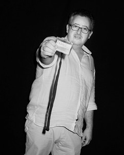 Stéphane Corréard, Directeur Artistique du Salon du Montrouge. Président du Jury du FILAF 2014.