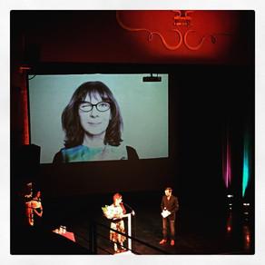 Sophie Calle, auteur et artiste, Prix d'Honneur du FILAF 2015.