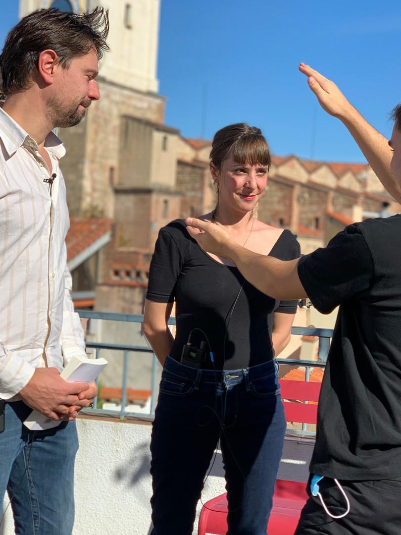 Till Rabus, Lucie Rico et Romain Planas