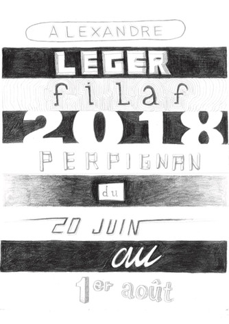 Alexandre Leger - affiche (5€)