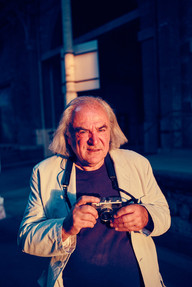 Alain Fleischer, auteur, réalisateur, photographe et directeur du Fresnoy. Prix d'Honneur du FILAF 2015.