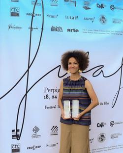 Samia Henni, auteur. FILAF d'Argent et Prix du Meilleur Livre dans la catégorie Théorie de l'Art.