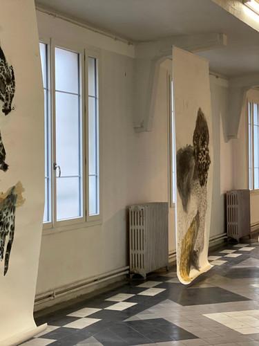 Clara Claus à l'exposition Decameron, Centro Espagnol