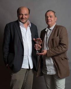 François et Stephan Levy-Kuentz, réalisateur et scénariste. FILAF d'Argent ex-aequo