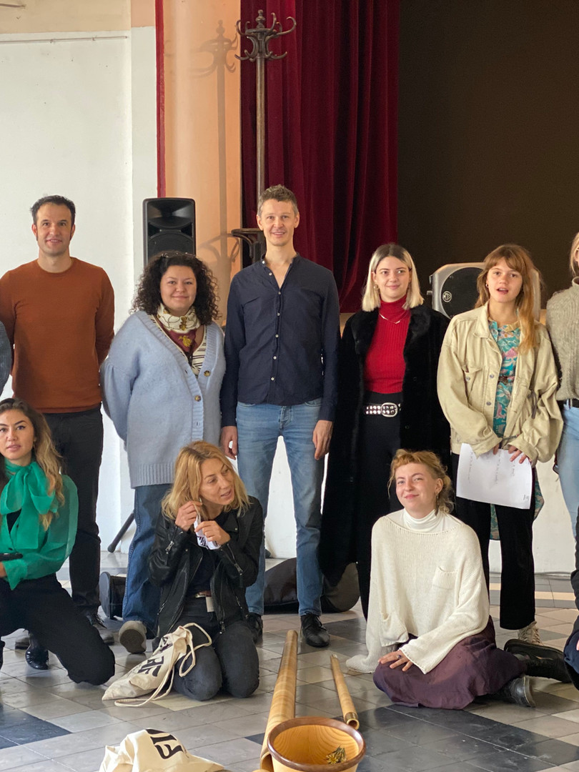 Photo de groupe au Centro Espagnol