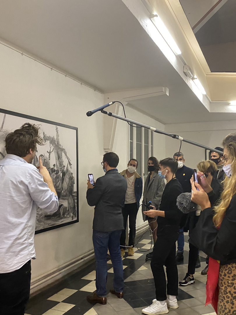 Vernissage de l'exposition Decameron le mercredi 28 octobre
