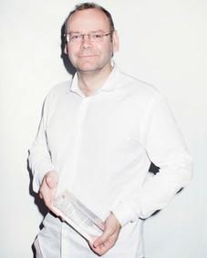 Clément Cheroux, auteur et conservateur de musée. FILAF d'Or du Meilleur Livre.