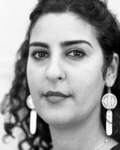 Nazanin Pouyandeh, artiste. Membre du Jury du FILAF 2015.