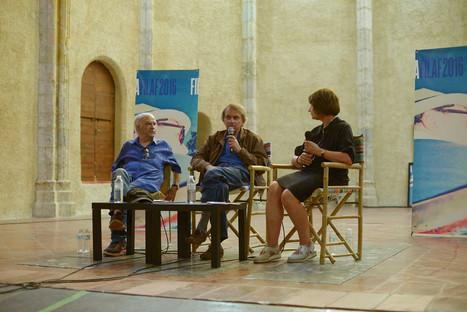 Michel Houellebecq, auteur, avec Catherine Millet et Jacques Henric