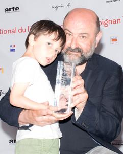 Pierre Bismuth, réalisateur. FILAF D'Or du Meilleur Film