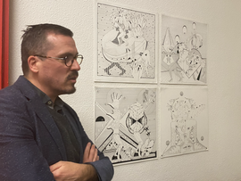 Max Wyse, exposition Decameron au Centro Espagnol 2020
