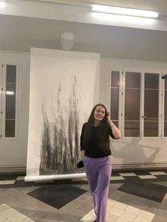 Clara Claus, exposition Decameron, Centro Espagnol 2020