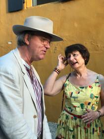 Robert Storr, auteur et commissaire d'expositions, avec Catherine Millet, auteur et critique d'art