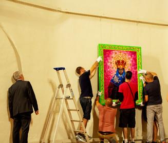 FILAF 2018 : accrochage exposition Pierre et Gilles