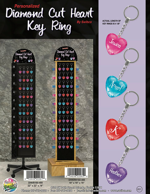 851 Diamond Heart Key Ring Brochure-NP.j