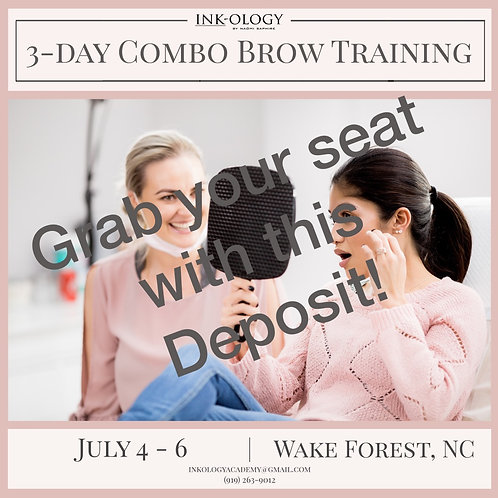 Deposit for July Training