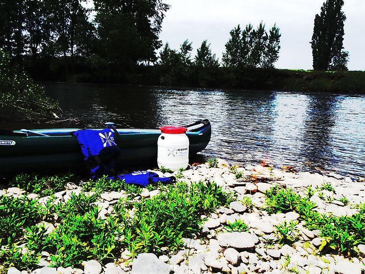 Randonnées canoë sur la Dordogne avevc nuit en bivouac, camping, gîte ou hôtel ...
