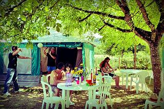 Canoë et camping sur la Dordogne
