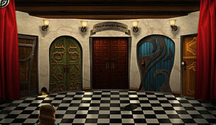 דלתות המובילות לארץ הפלאות של עליסה