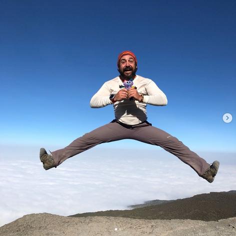 Chiquimiau at the top of Kilimanjaro.png