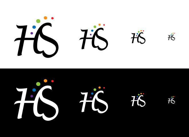 עיצוב לוגו בגדלים שונים