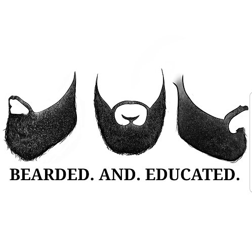 Bearded. And. Educated