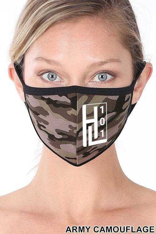 HL 101 Camo Face Mask