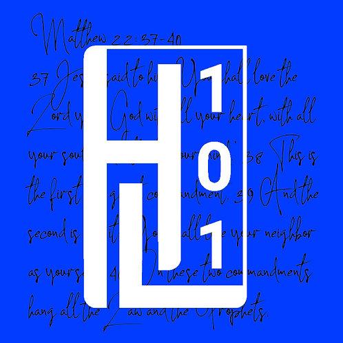 HL 101 - Blue Matthew 22:37-40