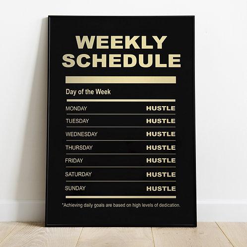 Weelly Schedule