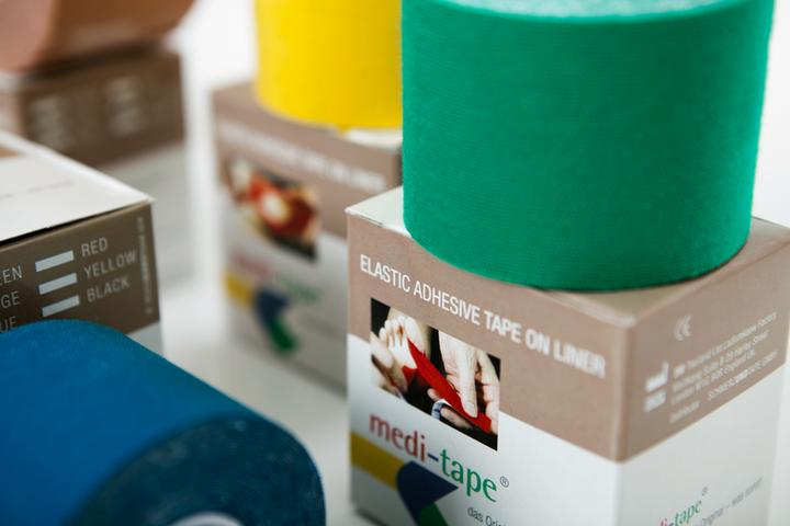 Die energetischen Farben der Medi-Tape® Bänder