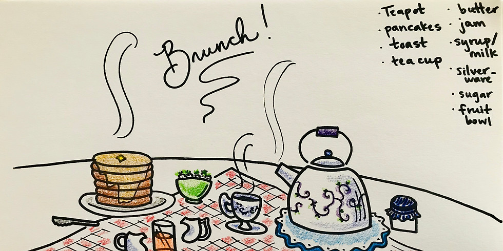 Mini Coloring Brunch with Mariah