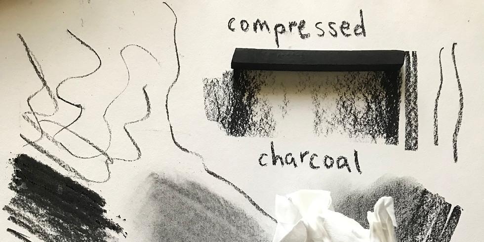 Mini Charcoal Basics with Mariah