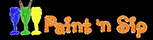 Paint 'n Sip Logo