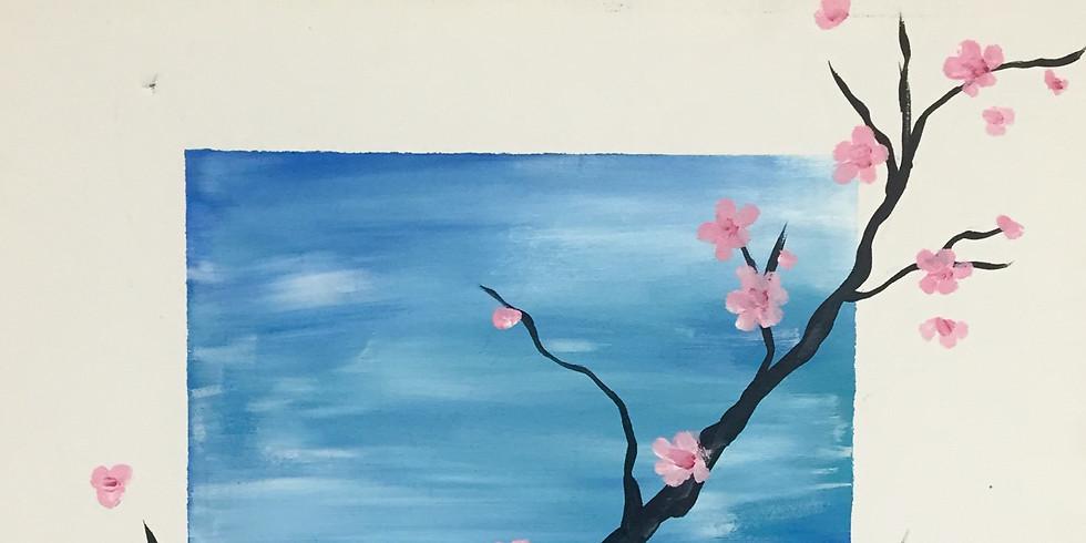 Illusion Frame Cherry Blossom