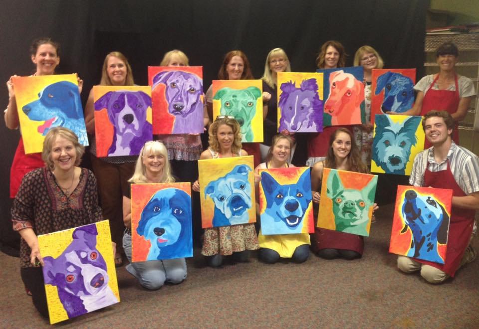 Paint Your Pet Open Studio for 1