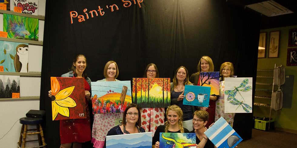 Paint With The Artists