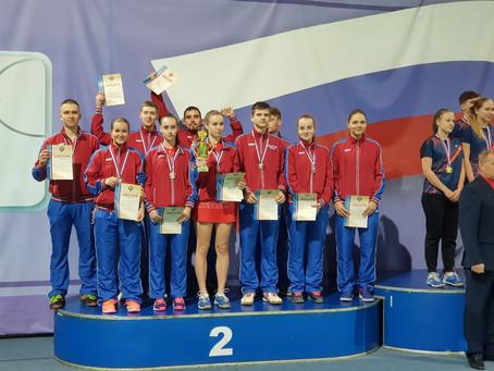 Поздравляем команду МО со 2 местом в командном чемпионате России