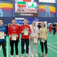 Бадминтонисты Московской области вошли в число лучших на Кубке России