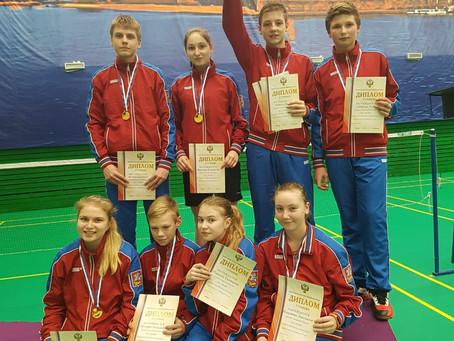 Поздравляем с победой сборную команду Московской области