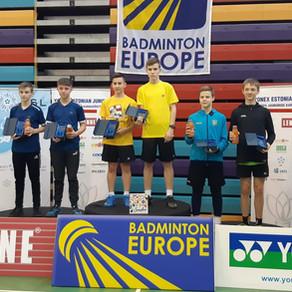 Пять золотых медалей завоевали бадминтонисты Подмосковья на международном турнире в Эстонии