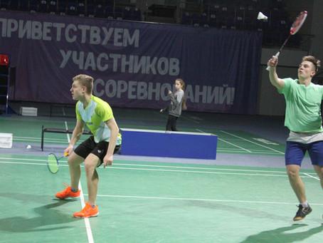 Первенство Московской области по бадминтону среди спортсменов до 19 лет состоялось в Раменском