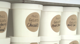 Delicious selection of our hand crafted gelato!