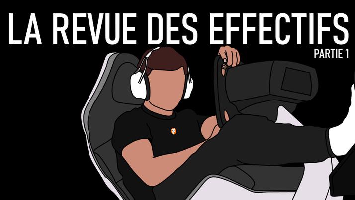 La revue des effectifs (1/2).