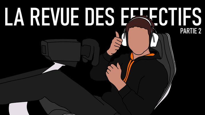La revue des effectifs (2/2).