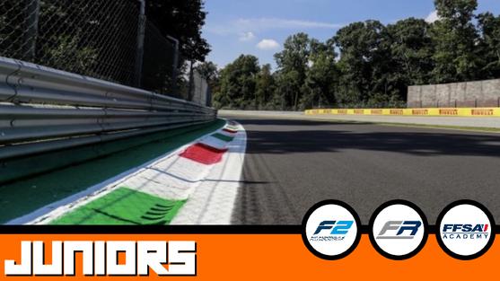 Pré-Grille Juniors : FIA F2, FRECA, FFSA F4.